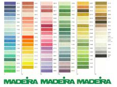 Картинка карта цветов Мадейра