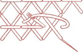 Удлиненный крест с обратным